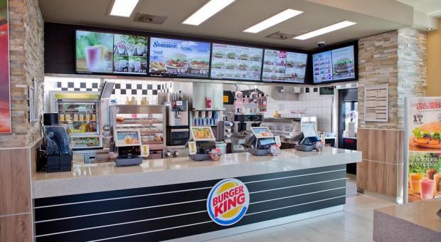 Eine Burger King Filiale