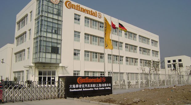 Das Continental Technologie-Center in Jiading in China