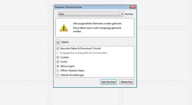 firefox downloads lassen sich nicht abbrechen