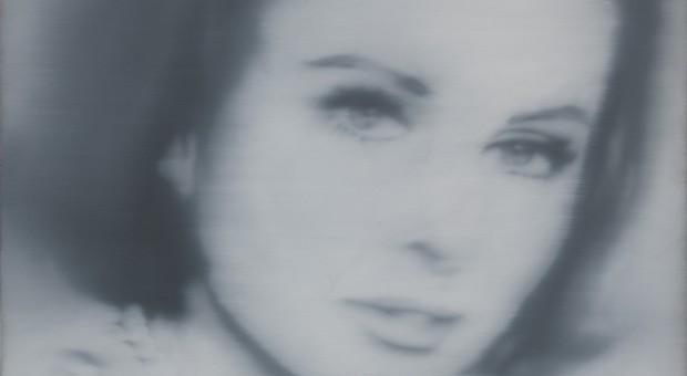 """Das Werk """"Portrait Liz Kertelge"""" von Gerhard Richter entstand 1966."""