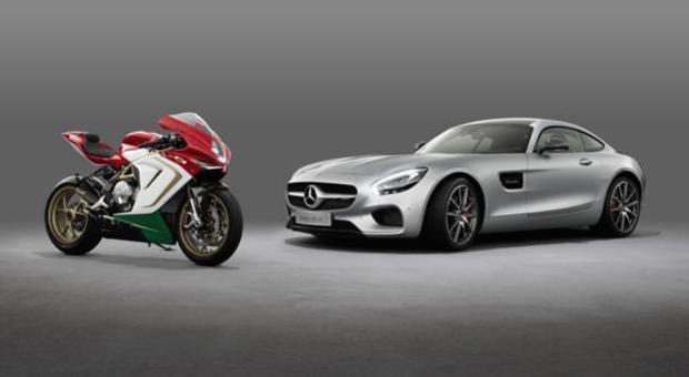 Daimler steigt beim Motorradbauer MV Agusta ein.