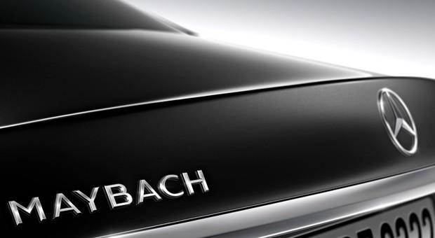 Ein erstes Foto vom neuen Mercedes-Maybach S600.