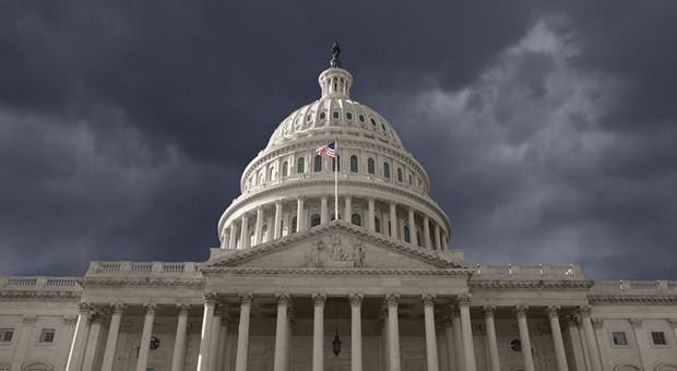 Das Capitol in Washington, der Sitz von Senat und Repräsentantenhaus.