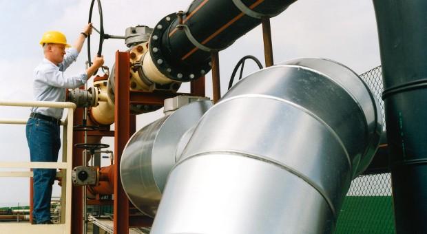 Ein Erdgasspeicher von RWE in Staßfurt.