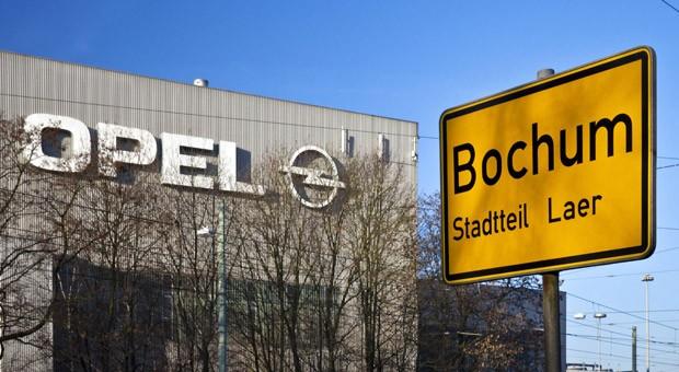 Das Opel-Werk in Bochum: Am 5. Dezember endet die Serienproduktion.