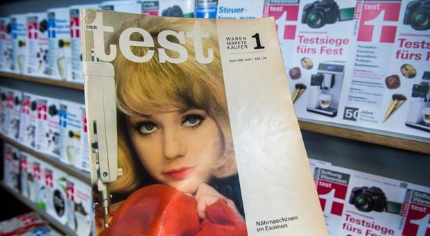 """Die erste Ausgabe der Zeitschrift """"Der Test"""" vom April 1966: Die Stiftung Warentest wird am 04.12.2014 50 Jahre alt."""