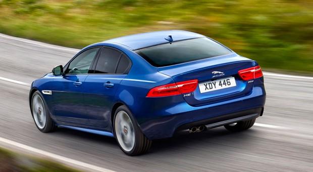 Der neue Jaguar XE soll im Sommer auf den Markt kommen.