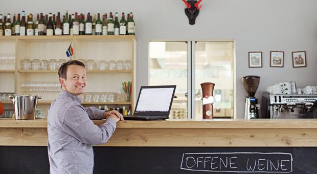 Ondrej Kovar erstellte den Businessplan für sein Restaurant Stüffel mithilfe einer Software binnen zwei Wochen.