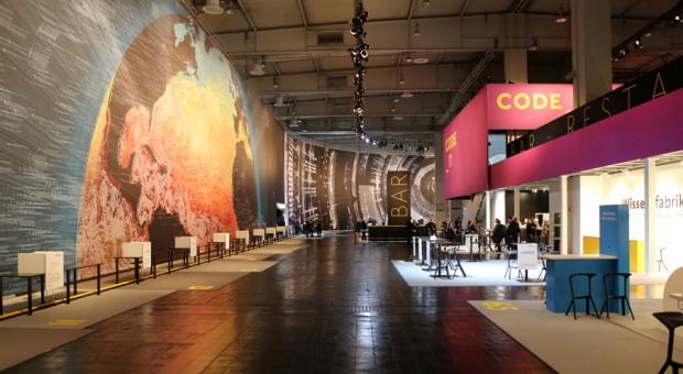 Die Halle 16 auf der Cebit, in der sich die Start-ups im vergangenen Jahr präsentiert haben.