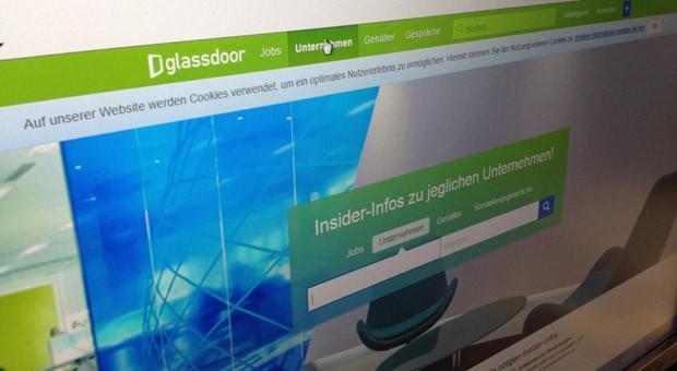 Seit heute ist das us-Karriereportal glassdoor auch auf deutsch online.