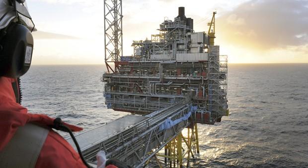 Die Ölplattform Oseberg in der Nordsee in Norwegen: Wegen des stark gesunkenen Ölpreises lohnt sich die Förderung immer weniger.