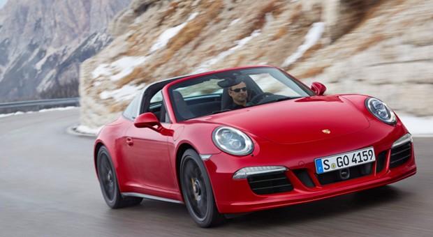 Der neue Porsche 911 Targa 4 GTS.
