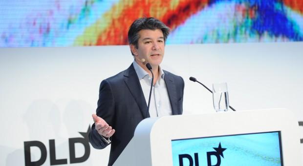 Will vom Buhmann zum Heilsbringer werden: Der von der Taxibranche angefeindete Uber-Chef Travix Kalanick versprach auf der DLD in München zehntausende neue Jobs.