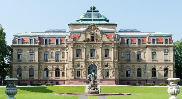 Das Hauptgebäude des Bundesgerichtshofs in Karlsruhe.