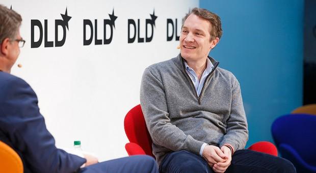 Oliver Samwer auf der Digitalkonferenz DLD in München.