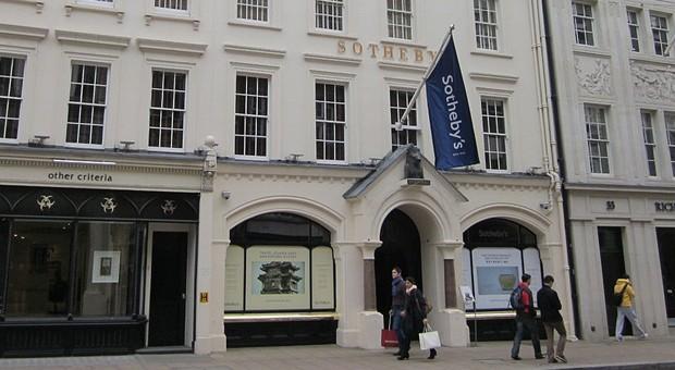 Die Londoner Filiale von Sotheby's.