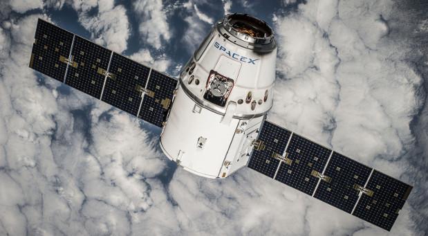 Ein Satellit der privaten Raumfahrtfirma SpaceX.