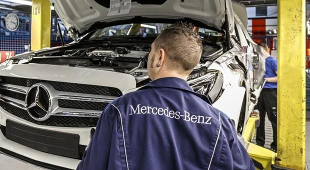 Produktion der neuen C-Klasse im Daimler-Werk in Bremen.