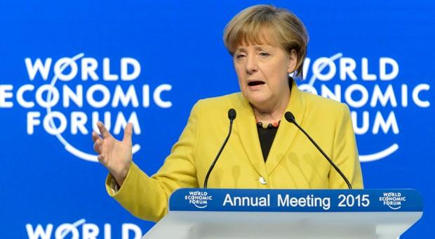 Bundeskanzlerin Angela Merkel beim diesjährigen Weltwirtschaftsforum in Davos.