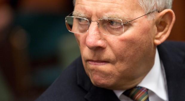 Bundesfinanzminister Wolfgang Schäuble vor einem Treffen der EU-Finanzminister in Brüssel in dieser Woche.