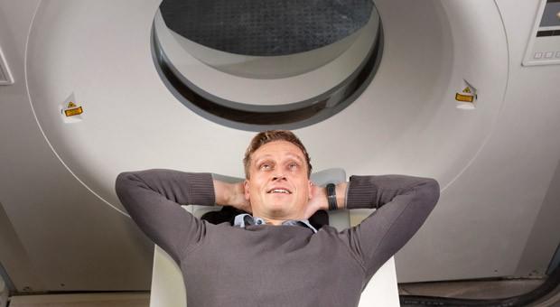 Der Unternehmer Jens Hanke wagte mit einem Radiologieassistenten für Tiere den Schritt in die Selbstständigkeit.