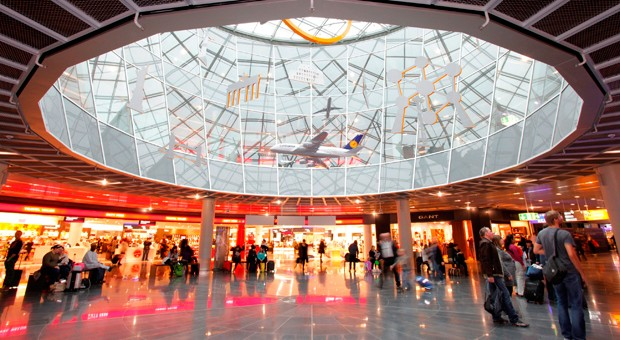Jede Menge Geschäfte: Shopping am Frankfurter Flughafen.