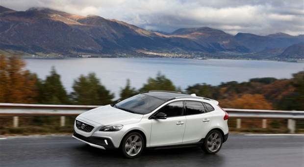 Die neuen Volvo Drive-E Motoren wie bei dem Volvo V40 verbrauchen nur noch 85 g/km CO2 .