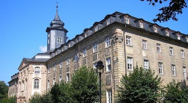 """""""Wir haben nothing to worry about"""": die Klosterschule Roßleben von außen."""