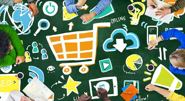 Supermärkte in Deutschland tüfteln an ihren Online-Konzepten.