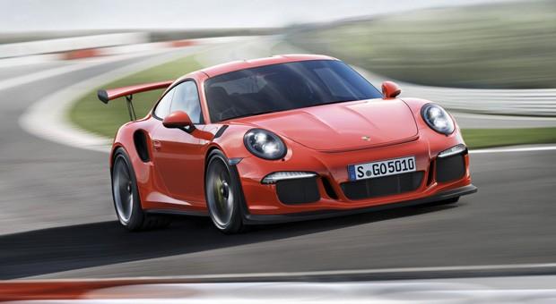 Der neue Porsche 911 GT3 RS feierte auf dem Genfer Autosalon Weltpremiere.