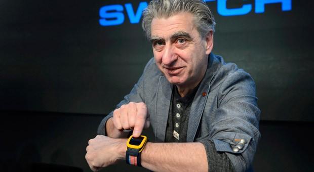 Swatch-Chef Nick Hayek hat auf die Konkurrenz von Apple & Co. reagiert: mit der Swatch Touch Zero.