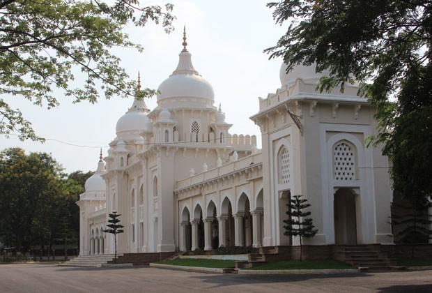 Indische Eliteschmiede: die Hyderabad Public School in Hyderabad.