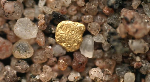 Nicht im Kiesbett eines Flusses, sondern im Schlamm der Kläranlagen suchen Forscher nach Gold und anderen wertvollen Edelmetallen.