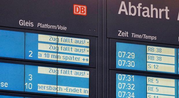 Am Mittwoch und Donnerstag dürften wegen des Lokführerstreiks wieder zahlreiche Züge in Deutschland ausfallen.