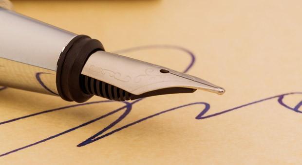 Tinte statt Tastatur: Mancher hat seinen Füllfederhalter wohl schon seit Jahren nicht mehr angepackt.