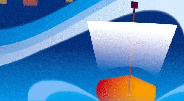 Hanse-Kogge auf See: Der Hansebund glänzte mit genau den Eigenschaften, die heute Start-up-Firmen erfolgreich machen.