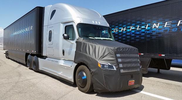 Premiere für selbstfahrenden Daimler-Truck