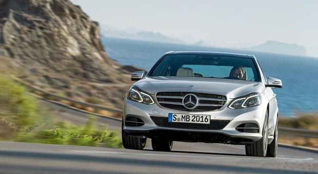Wertstabil in der oberen Mittelklasse:  der Mercedes E 350 BlueTec.