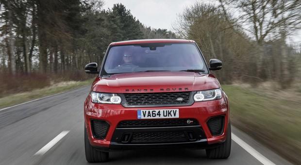 Der Range Rover Sport SVR