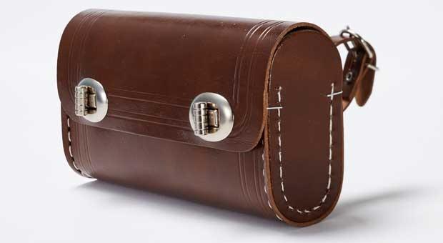 Eine Satteltasche von Westphal.