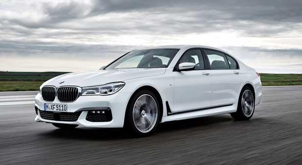 Ab Oktober 2015 erhältlich: der neue 7er BMW.