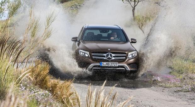 Rund und geländetauglich: der neue Mercedes GLC.
