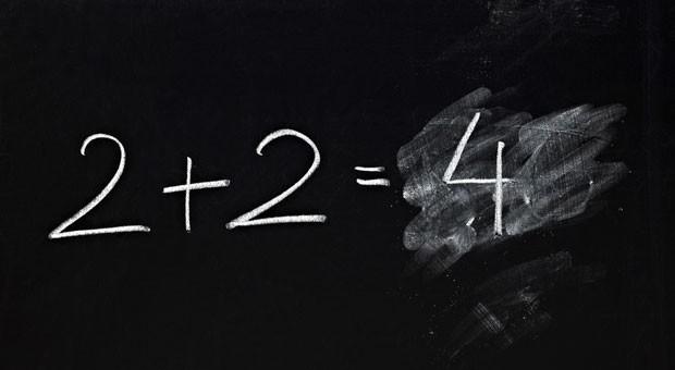 Im zweiten Anlauf richtig: Nicht nur beim Kopfrechnen kann man aus Fehlern lernen.