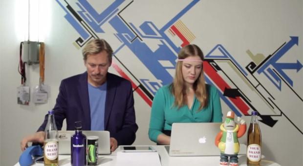 """Schickes Macbook und jede Menge Energie-Drinks: Das Satire-Video """"Unlimited Ltd. - The Berlin Startup Leaks"""" nimmt die Gründerszene auf die Schippe."""
