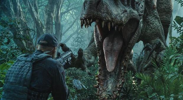 """Angriff der genmanipulierten Saurier:  Mit """"Jurassic World"""" kommt der vierte Teil der Dino-Saga ins Kino."""