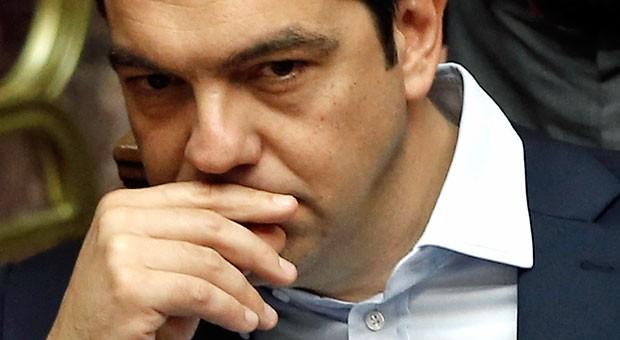 """Griechenlands Premier Alexis Tsipras: """"Geldeinlagen in griechischen Banken sind absolut sicher."""""""
