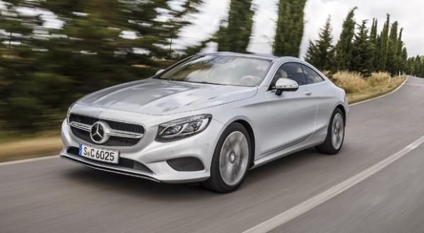 Mercedes S-Klasse Coupé: fahrt auf der Autobahn teilweise im Autopilot