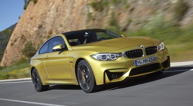 Dynamischer Antritt: Das BMW M4 Coupé ist ein echter Kraftprotz.