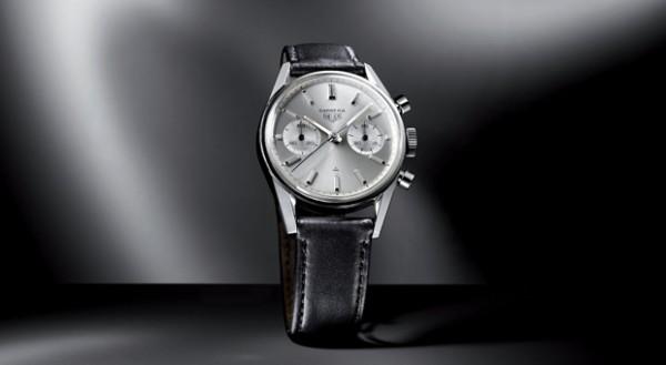 Eine Uhr, wie hier die Heuer Carrera von 1963 kann eine gute Wertanlage sein.