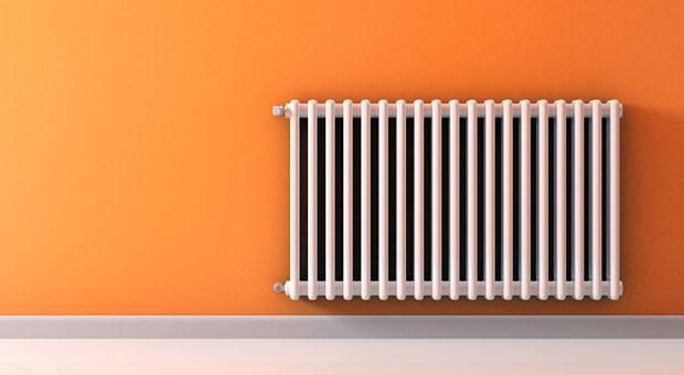 """Der Heizkörper wird warm, weil im Keller der Server läuft - das ist das Konzept  der """"grünen Cloud"""" des Start-ups Cloud & Heat."""